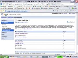I love Google Webmaster Tools sooooooo much :)