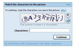 Got Blog Spam? Get a CAPTCHAI