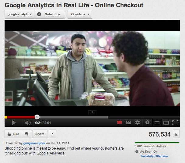 Google Analytics Friday Funny Video