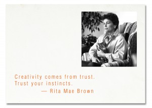 Rita Mae Brown Creative Quotes Web Marketing Therapy