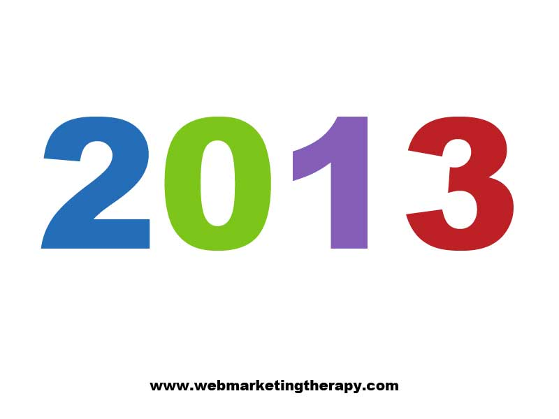 Four Web Marketing Best Practices for 2013