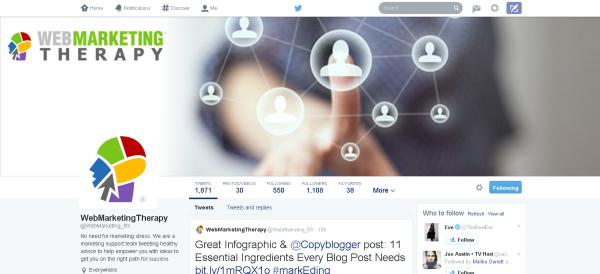 Web Marketing Therapy Twitter