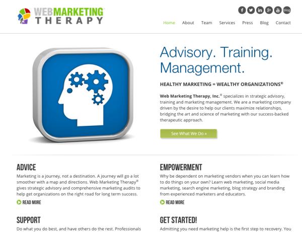 www.webmarketingtherapy.com circa 2015