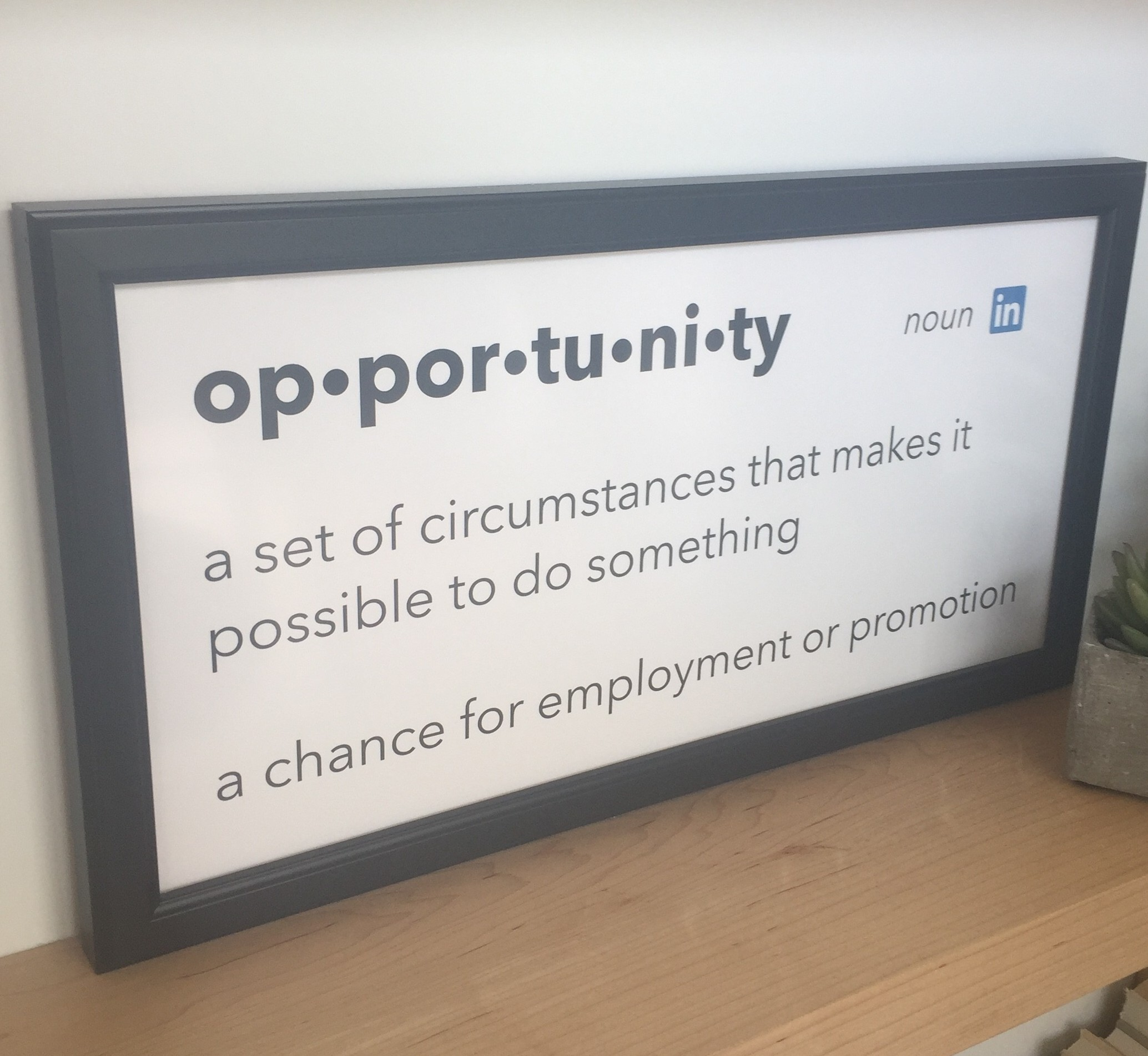 linkedin opportunities