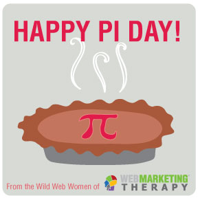 Web Marketing Therapy Pi Day