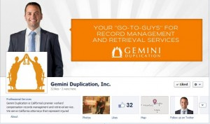 Gemini Duplication FB Cover Photo