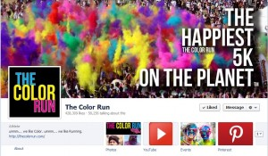 The Color Run FB Cover Photo
