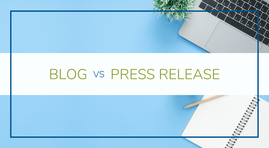 The Difference Between a Blog and a Press Release