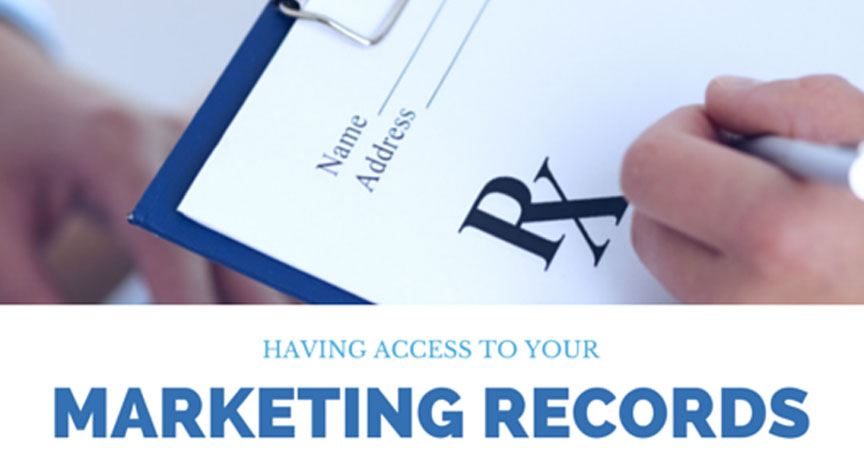 Having Access to Your Marketing Records