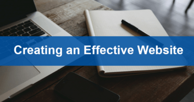 Creating an Effective Website
