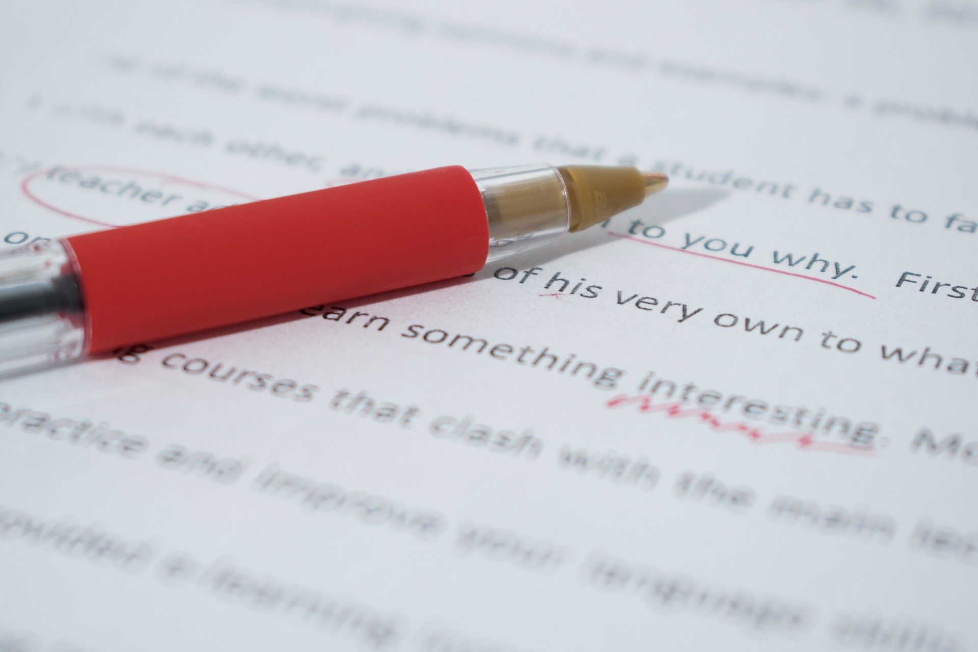 The Value of Proofreading