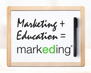 marketing + education markeding