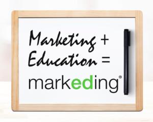 marketing + education markeding