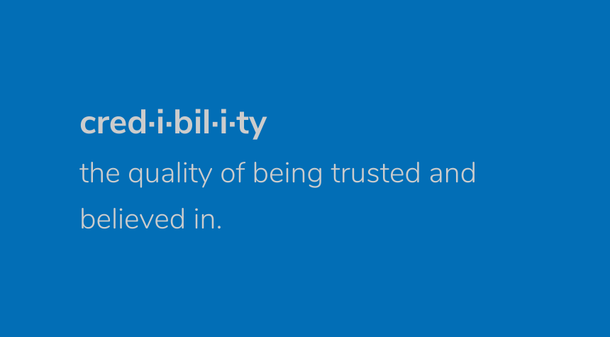 Credibility: Know, Like and Trust